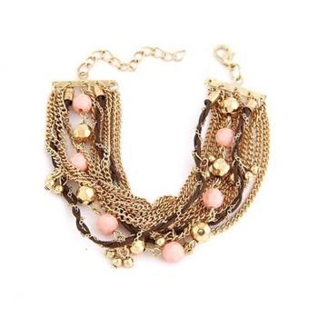 Exotic Multi Layer Charm Bracelet