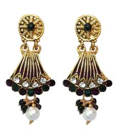 Buy Multicolor crystal earrings jewellery-below-300 online