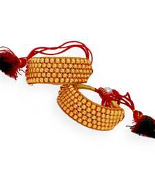 Buy Traditional Jaipur Jewellery Gold Beads Bajubandh Bracelet bajuband online