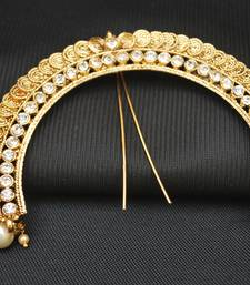 Buy gold studded jewellery hair accessories hair-accessory online