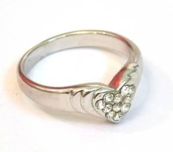 Sweet Heart  Zircon Ring