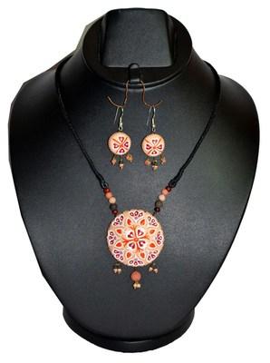 Handmade Terracotta Beautiful Pendant