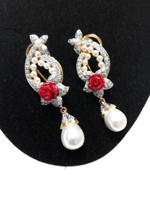 smart look pearl earring
