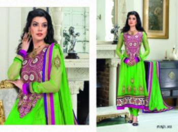 Styloce Green Color Designer Salwar Kameez .STY-102-301