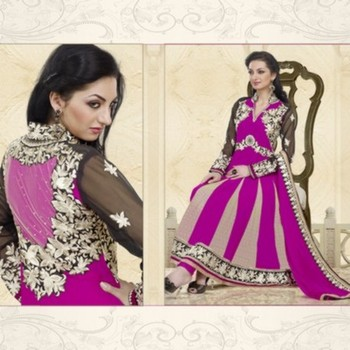 Styloce Pink Color Designer Salwar Kameez .STY-104-104
