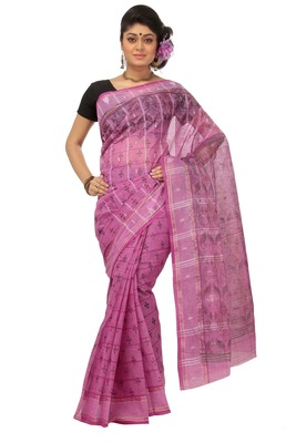 PINK COLOUR COTTON SAREE DCSO2079
