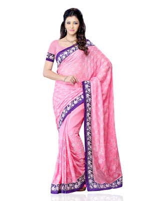 Blue Color Art Silk Bollywood Party Wear Designer Saree