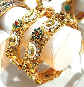 Designer Jewelry Kundan Kada Collection