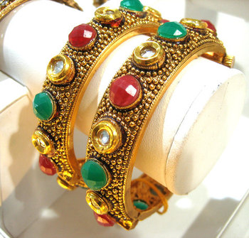 Designer Jewelry Kundan Kada Collection