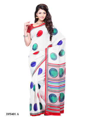 Multi Color Color Art Silk Party Wear Fancy Saree
