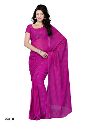 Purple Color Jacquard Party Wear Fancy Designer Saree