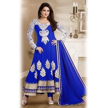 Blue Anarkali Suit