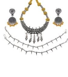 Buy Multicolor diamond jewellery-combo jewellery-combo online