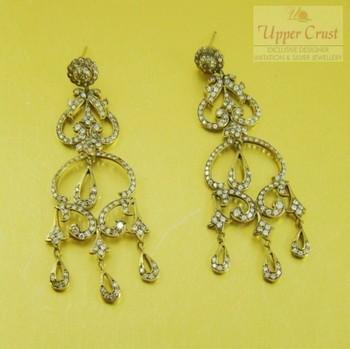 Antique Style Victorian Chandelier Earrings