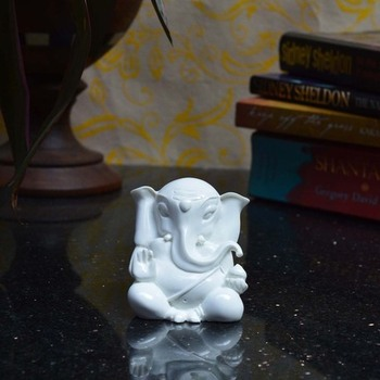 White Lord Ganesha