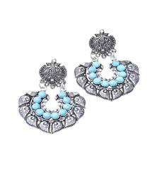Buy Turquoise zircon earrings Earring online