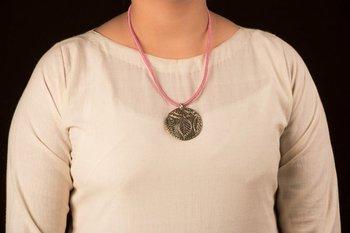 Multicolor teracotta_and_dokra pendants