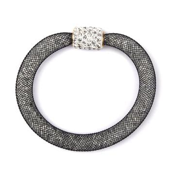 Black Color Fashion-forward Bracelet