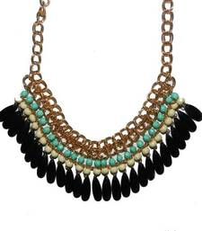 Buy Tassel Drop Statement Necklace fashion-deal online