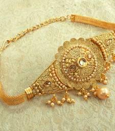 Buy Gold kundan bajuband bajuband online