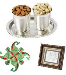 Buy Silver n Nuts Diwali Greetings Hamper diwali-gift-hampers-idea online