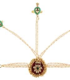 Buy Multicolor american diamonds Cubic Zirconia haath phool hath panja haath-phool-hath-panja online