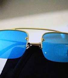 Buy Blue Classic Style Sunglasses sunglass online