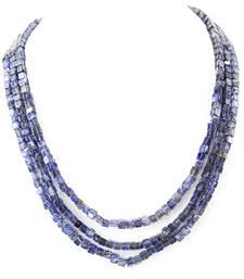 Buy Blue Tanzanite Gem stone Necklace gemstone-necklace online