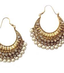 Buy Ethnic Pearl Polki Earring by Adiva ansatocoo46 tds1 hoop online
