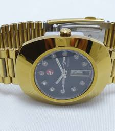 Buy GENTS MEN RADO DIASTAR JUBILEE DAY DATE GUNMETAL AUTOMATIC SWISS WRIST WATCH vintage-watch online