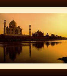 Buy The Taj River View Painting painting online