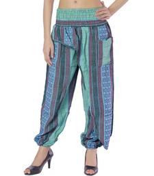 Buy Rajasthani multicolorcolor Hand Weaved Women Harem Pant harem-pant online