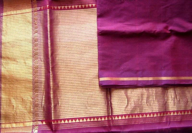 Cotton Vs Linen Curtains: Buy Handloom Venkatagiri Cotton Saree With Broad Single