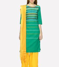 Buy Aurelia women's green cotton kurta cotton-kurtis online