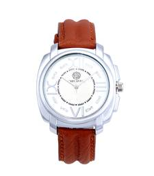 Buy Roman numeric white dial analogue watch for men vintage-watch online