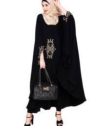 Buy Black Premium Nida islamic kaftans islamic-kaftan online