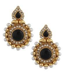 Buy Black cubic zirconia earrings Earring online