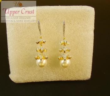 3 Layer Jhumka Dangle Earring