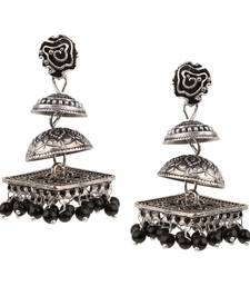 Buy Black crystal danglers-drops danglers-drop online