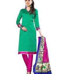 Buy Green  bhagalpuri silk salwar salwar-kameez-below-1000 online