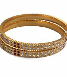 Buy Ruby ad thick bangles bangles-and-bracelet online