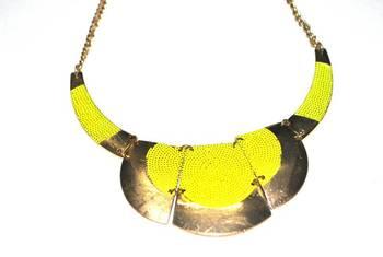 Neon bull choker (yellow)