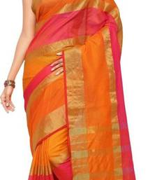 Buy Multicolor printed manipuri silk saree with blouse manipuri-silk-saree online