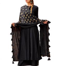 Buy Black printed rayon salwar palazzo online