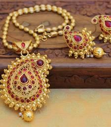 Buy Red agate pendants Pendant online