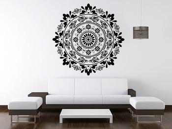 Ethnic floral design