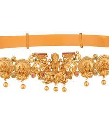 Buy Gold pearl bridal-kamarband bridal-kamarband online