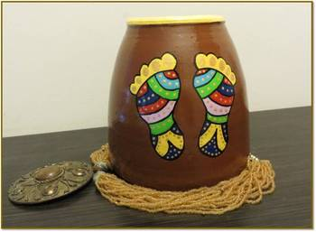 Charan Paduka(brown)
