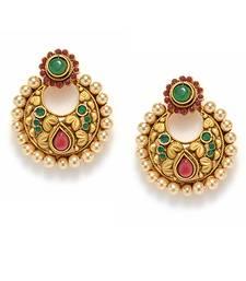 Buy Irresistible Matte Finish Earrings eid-jewellery online