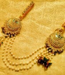 Buy Kundan Double Juda Waist Belt Kamarband Ethnic Wedding Jewelry waist-belt online